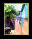 an interesting old alley in Belize thumbnail