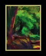 Third of a series of digital oil paintings of different views of a vivid landscape thumbnail