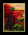 Fourth of a series of digital oil paintings of different views of a vivid landscape thumbnail